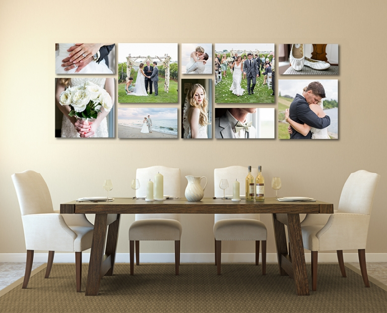 canvas display