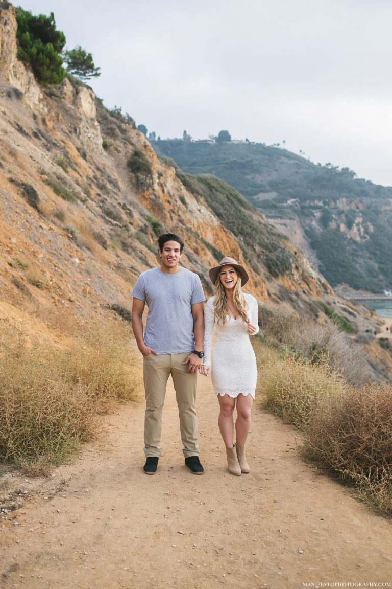 Jordan + Laura | Palos Verdes, California | Destination Engagement Photographers | Pre-Wedding | Manifesto Wedding Photography | Windsor, Ontario