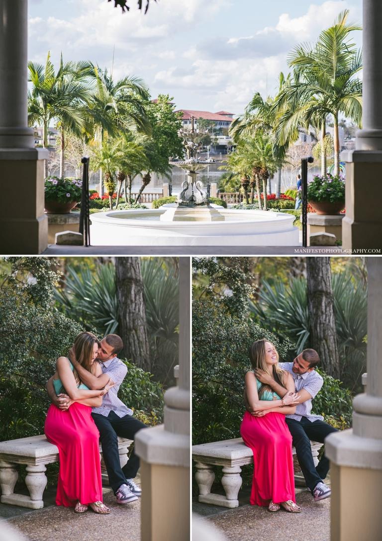Destination Engagement Photographers | Manifesto Photography | Lake Mirror | Lakeland, Florida