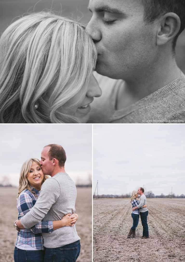 Windsor, Ontario Engagement Photographers, Joshua & Arica Klassen | Manifesto Photography | Farm