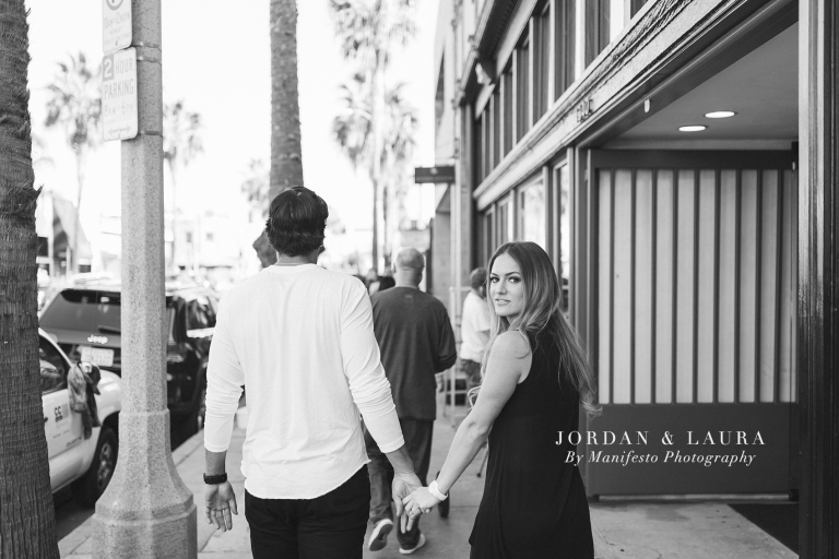 Venice Beach Engagement Session | Manifesto Photography | Destination Engagement Photographers