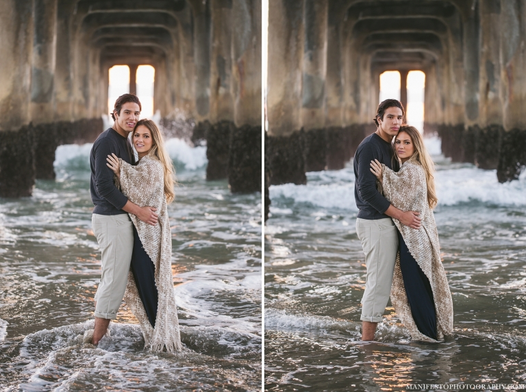 Destination Engagement Session | Manifesto Photography | Photographers, Joshua & Arica Klassen | Manhattan Beach, California
