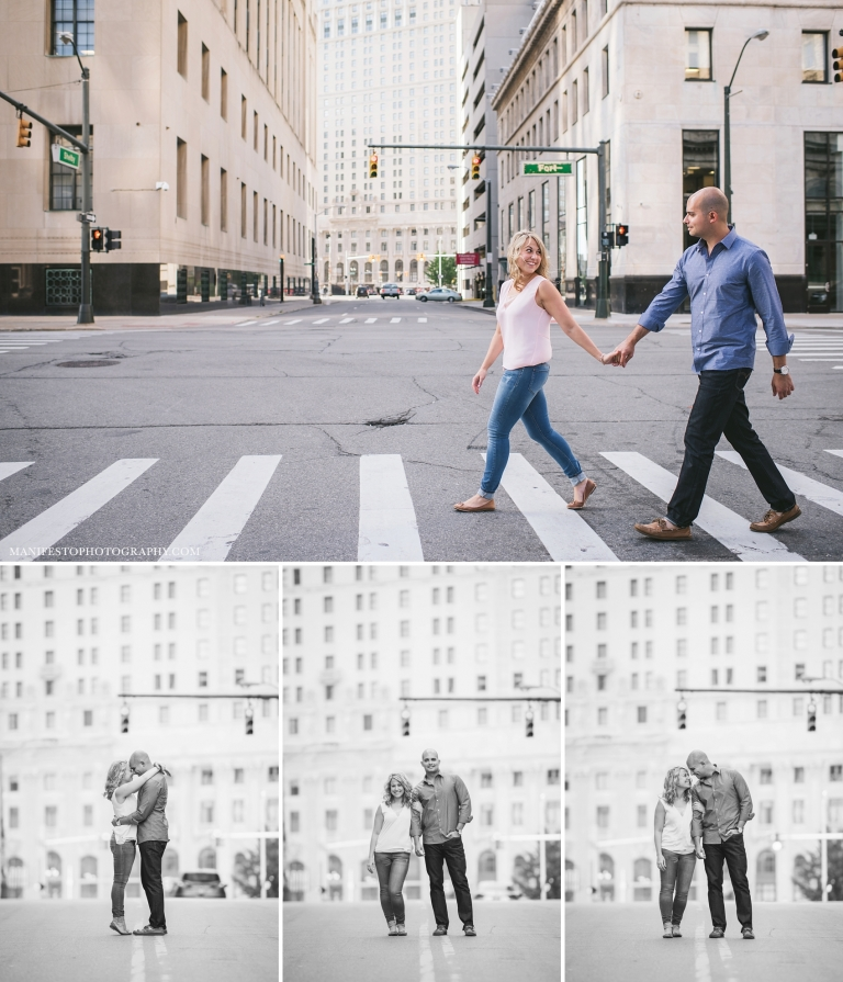 Engagement Session by Manifesto Photography | Windsor, Ontario Wedding Photographers | Detroit, MI Destination Session