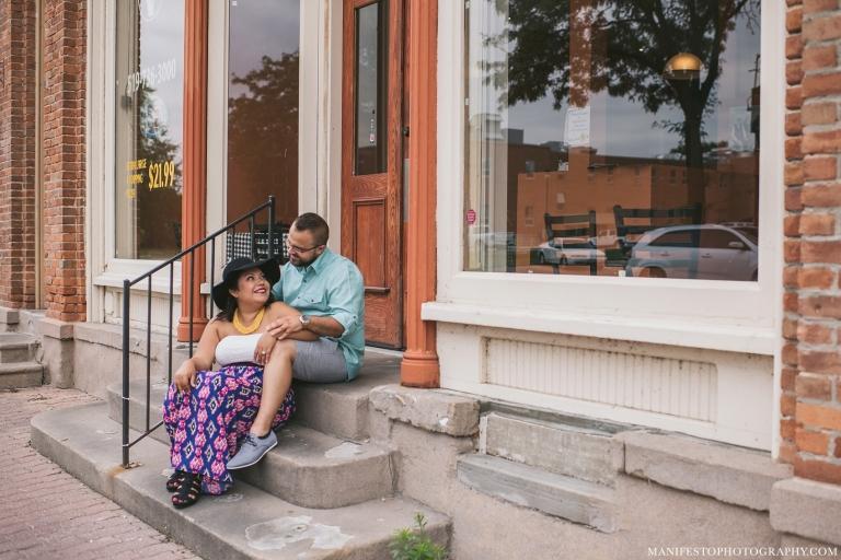 Amherstburg, Ontario | Engagement Photographers | Manifesto Photography | Picnic