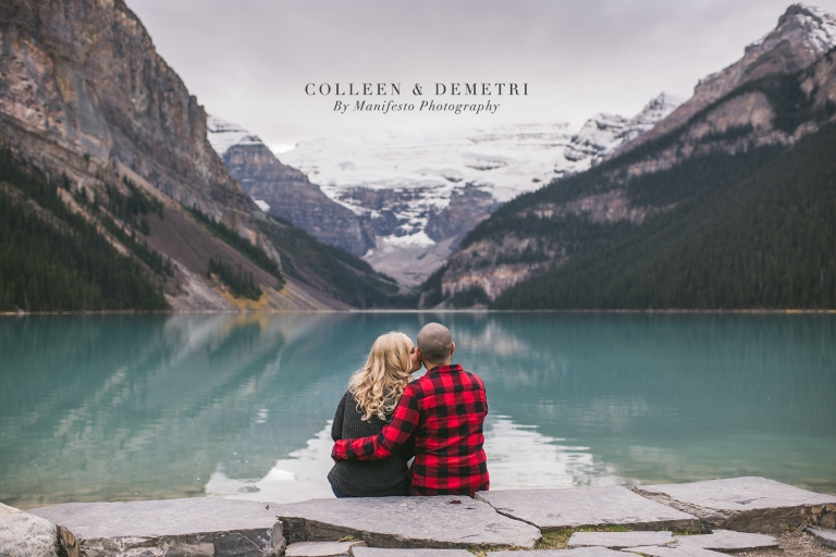 Colleen & Demetris | Lake Louise, Alberta | Windsor, ON Engagement Photographers