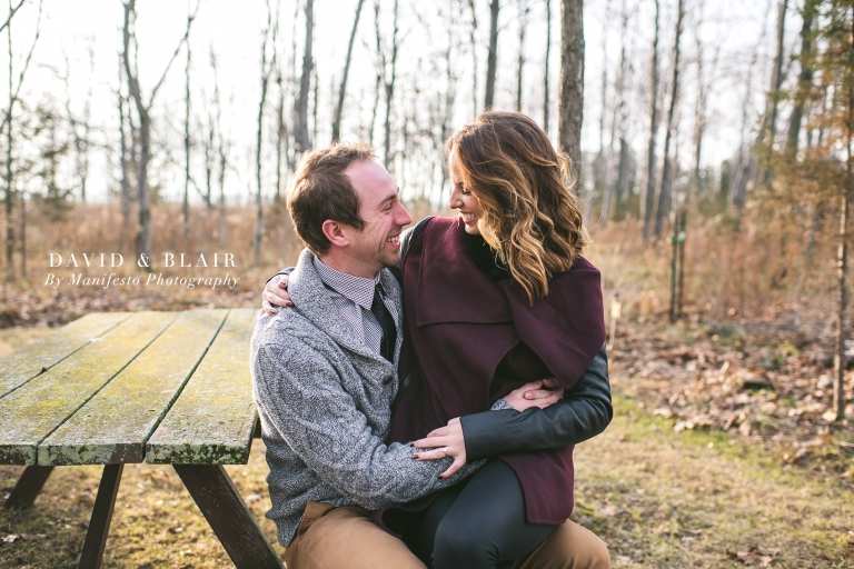 Windsor, Ontario | Engagement Photographers | Manifesto Photography | Leamington Tree Farm | Warkentin's