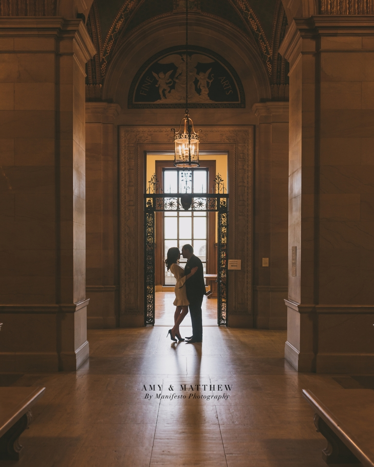 Windsor, Ontario Wedding Photographers | Manifesto Photography | Detroit Public Library | Book Theme