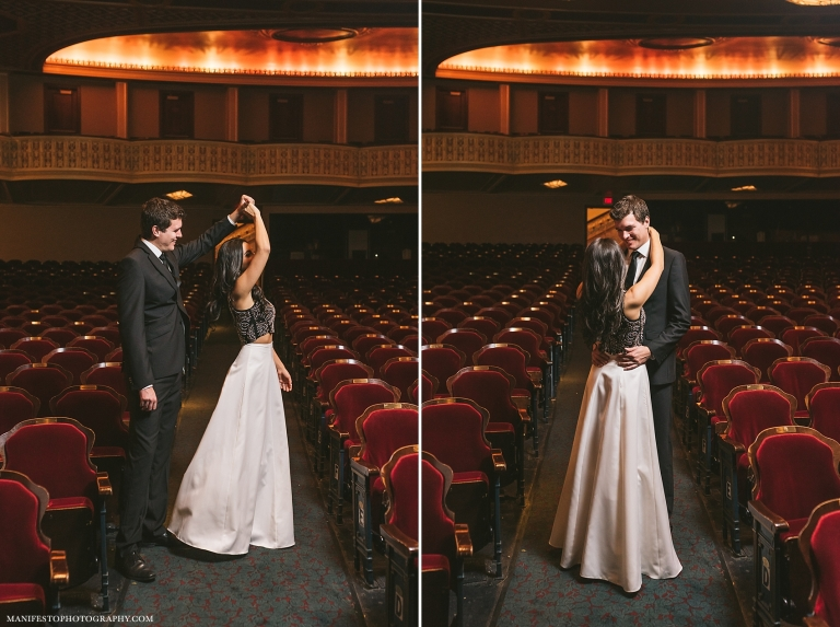 Manifesto Photography | Detroit Opera House | Windsor, Ontario Engagement Photographers |