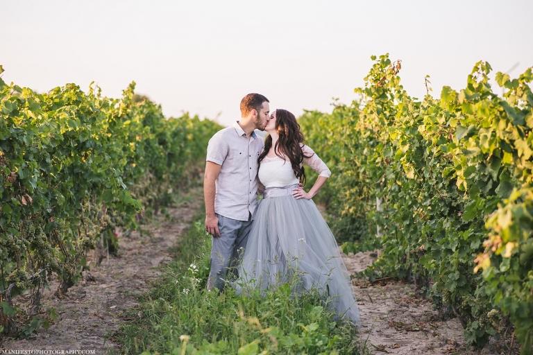 Manifesto Photography | Windsor Ontario Engagement Photographers | Sprucewood Shores Estate Winery | Amherstburg Ontario