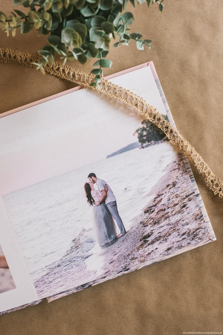 10x10 Press Printed Engagement Album by Manifesto Wedding Photographers