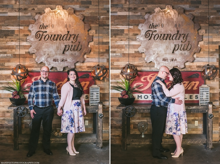Manifesto Photography | Windsor Ontario Engagement Photographers | The Foundry Pub | Jackson Park