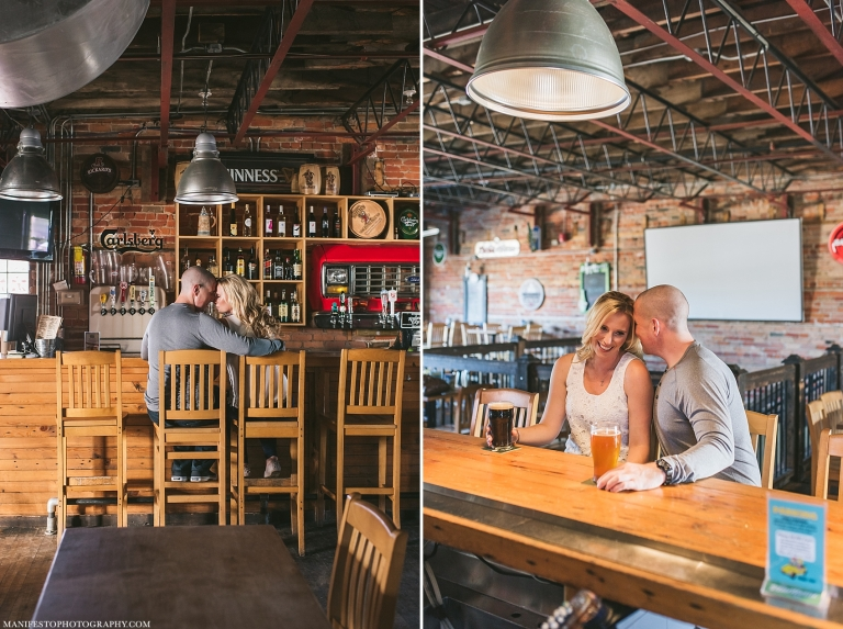 Manifesto Photography | Windsor Ontario Engagement Photographers | Rock Bottom Bar and Grill | Wilistead Park