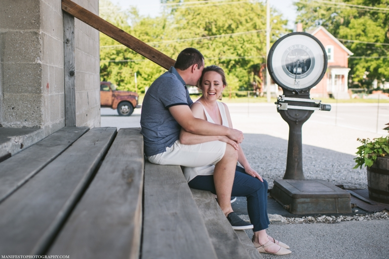 Manifesto Photography | Windsor, Ontario Engagement Photographers | The Old Harrow Mill | Harrow, Ontario