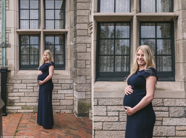 Manifesto Photography | Windsor Ontario Maternity Photographers | Willistead Manor | Windsor