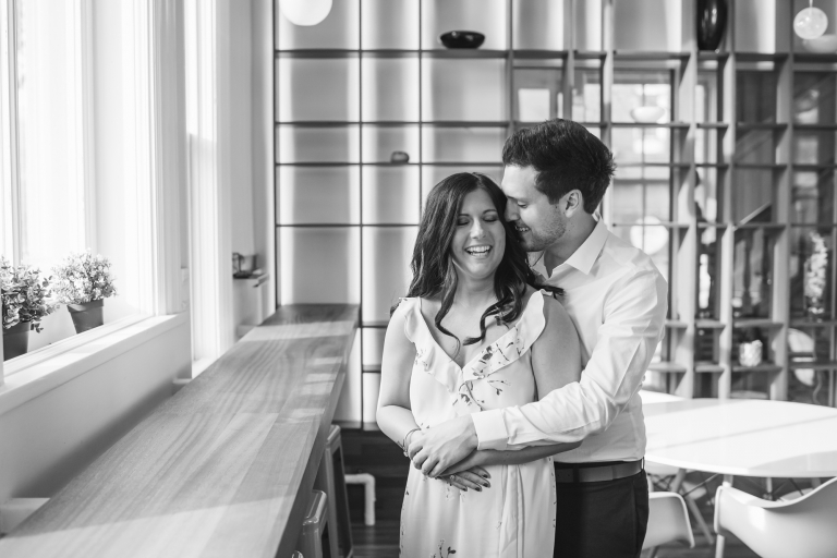 Windsor, Ontario Engagement Photos | Manifesto Photography | Post Cafe