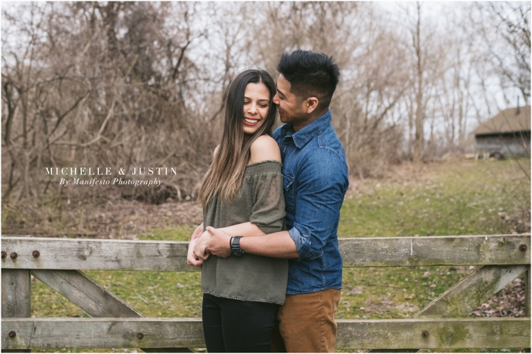 Windsor, Ontario Engagement Photographers | John R. Park Homestead | Manifesto Photography